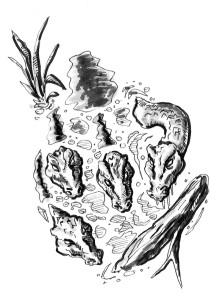 Hydra lurking